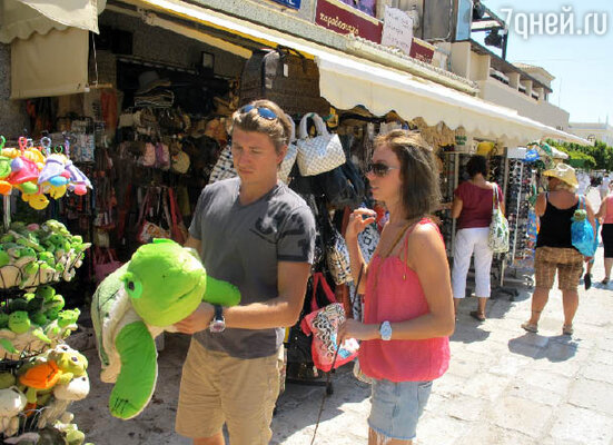 Прогулка по местному рынку