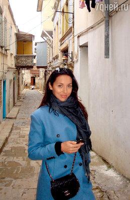 На прогулке в старом Баку