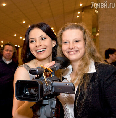 Ирина Лачина со своей дочерью Марией Будриной