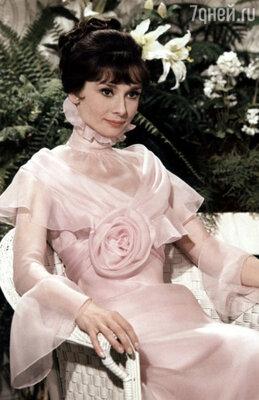 Одри Хепберн в роли Элизы Дулиттл. «Моя прекрасная леди».  1964 год
