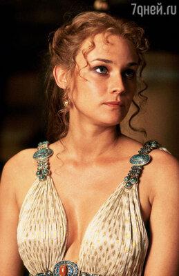 Диана Крюгер в роли Елены. «Троя». 2004 год