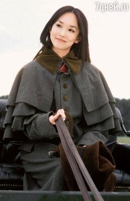 Фэнн Вонг в роли Чон Лин. «Шанхайские рыцари». 2003 год