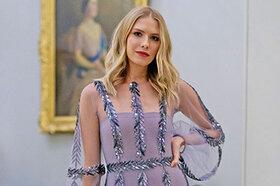 Образ дня: Елена Перминова в Yanina Couture