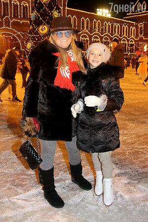 Татьяна Михалкова с внучкой Наташей