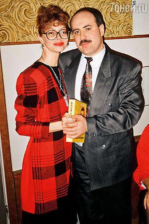 Елена Метелкина и Владимир Хуцишвили