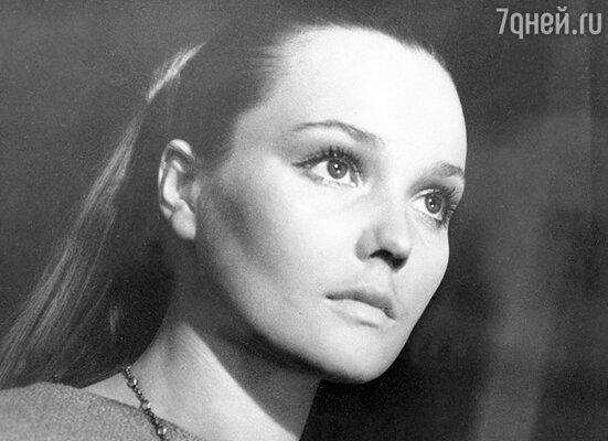 Первая жена Валентина Шендрикова— Корделия в фильме «Король Лир». 1970 г.
