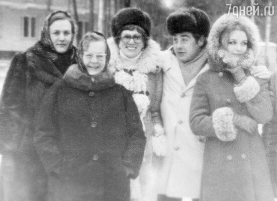 С третьей женой Татьяной и мамой. 1978 г.