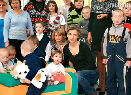 Во время посещения одного из детских домов Екатеринбурга