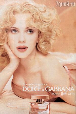 Скарлетт Йоханссон для Dolce&Gabbana