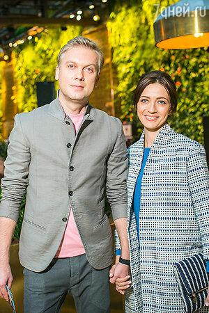 Сергей Светлаков с супругой