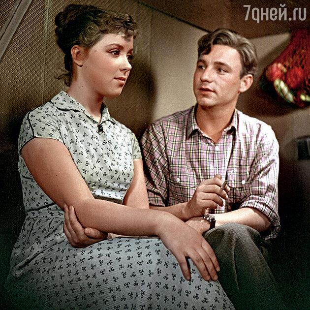 Светлана Карпинская и Николай Рыбников