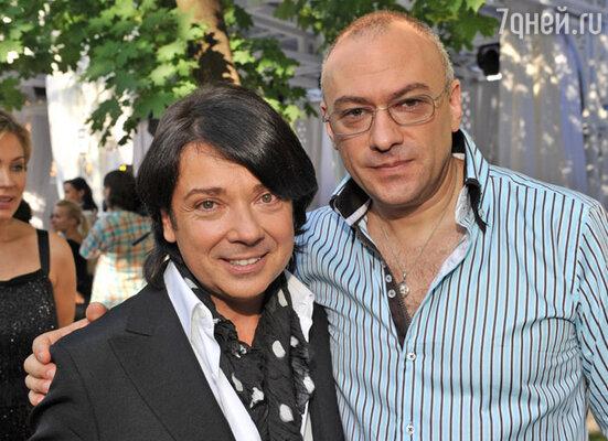 Валентин Юдашкин и Евгений Кобылянский
