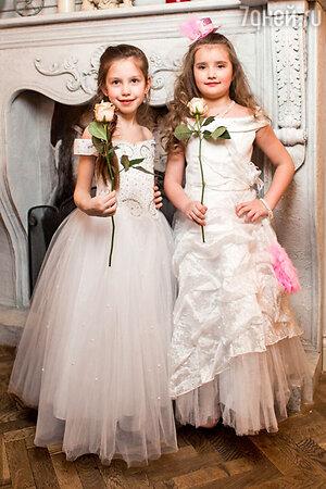Среди участниц показа была и дочь Ромы и Елены Полина