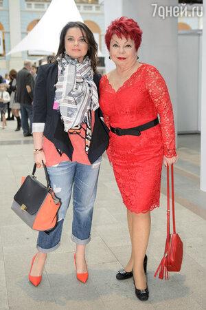 Наташа Королева с мамой Людмилой Порывай