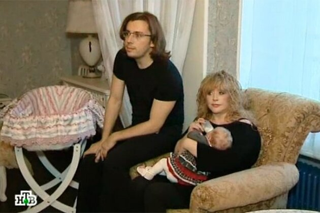 Максим Галкин и Алла Пугачева с дочкой Лизой