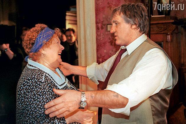Людмила Иванова, Жерар Депардье