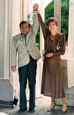 С Людмилой Гурченко в фильме «Любимая женщина механика Гаврилова». 1981 г.