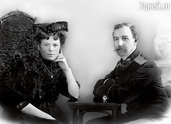 Дед мой Александр Александрович Назаров был олицетворением благородства. С супругой Евдокией, 1906 г.