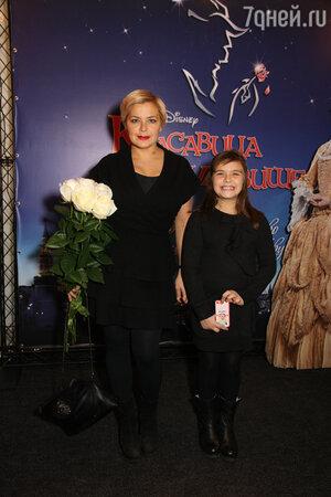 Ирина Пегова с дочкой