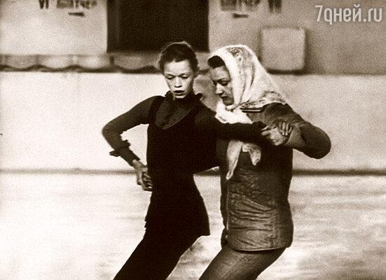 На тренировке с прославленной Еленой Чайковской