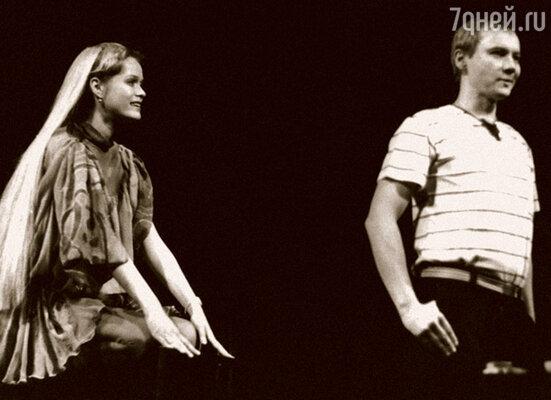 В спектакле «Эти свободные бабочки» у нас с Андреем был любовный дуэт