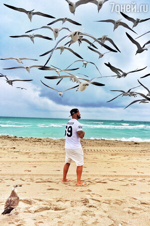 Джиган отдохнул с семьей на Мальдивах
