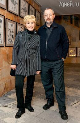 С бывшим мужем Михаилом Мишиным