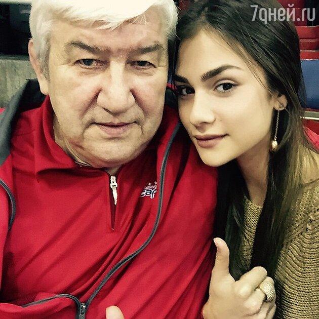 Анастасия Шубская и Михаил Овечкин