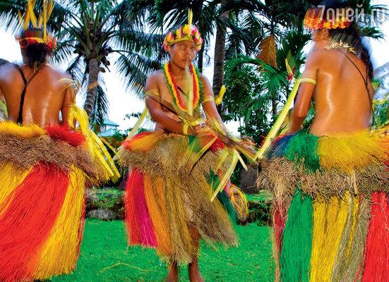 Новогодние торжества вМикронезии