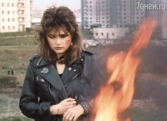 После выхода фильма «Авария - дочь мента» Оксана Орбузова заработала славу «дурной девчонки»