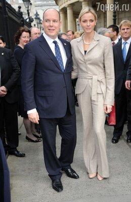 Князь Альбер и княгиня Шарлин
