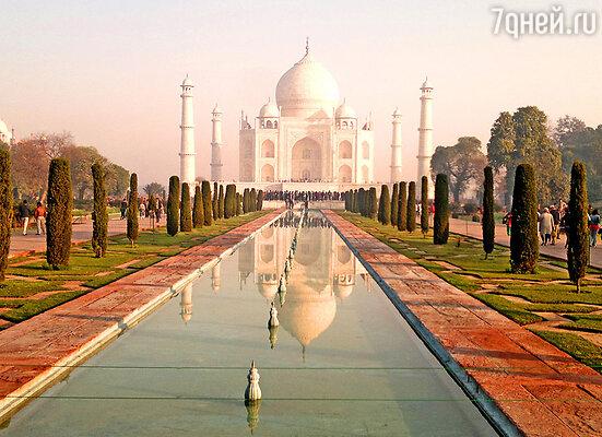 Напоследок Марину ждала буря эмоций и впечатлений. «Я хотела посетить Тадж Махал. Он стал идеальным завершением моего прекрасного отдыха в Индии!»