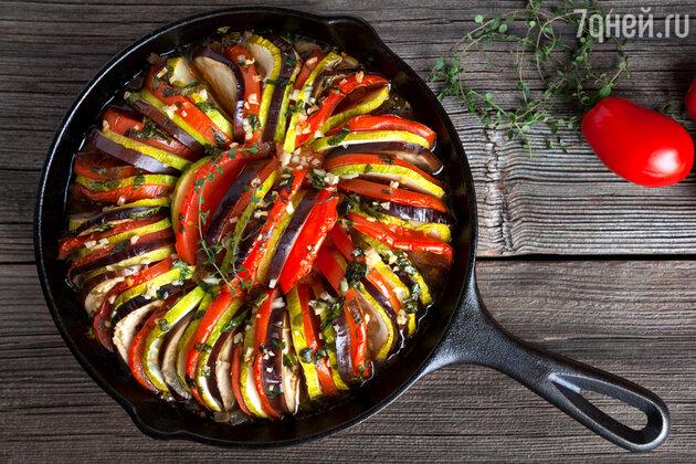 Идеальный рататуй: рецепт от шеф-повара Гордона Рамзи