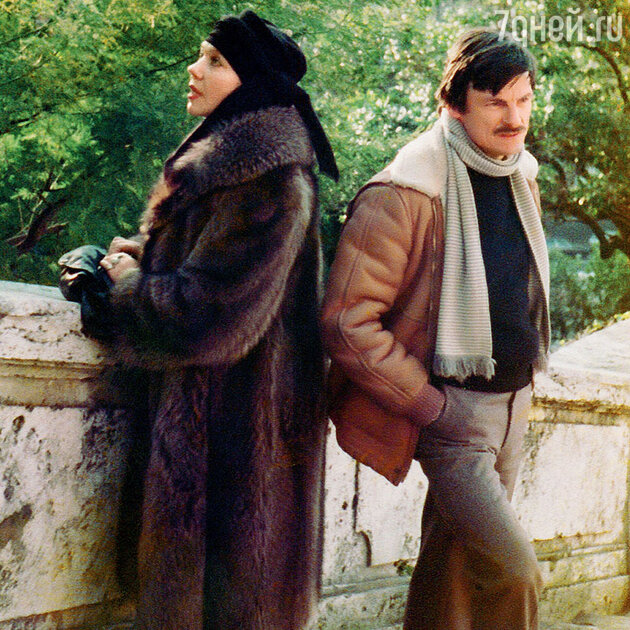 Андрей Тарковский и Лариса Кизилова