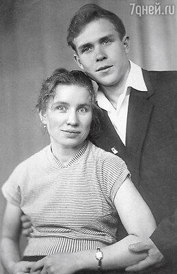 Родители Розы: Луиза и Раиф Сябитовы. 1959 г.