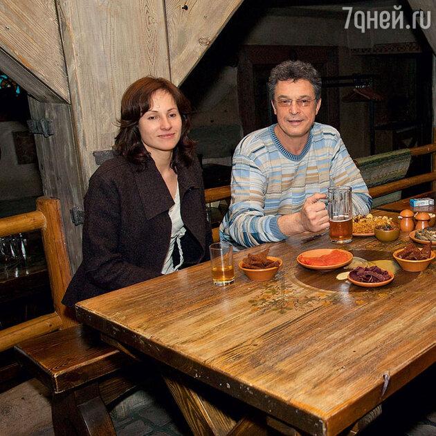 Ивар Калныньш со старшей дочерью Уной. 2005 г.