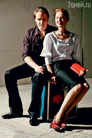 Лариса с сыном Максимом