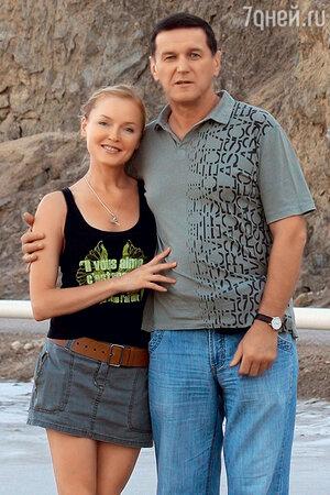 Лариса с мужем Александром Дудовым