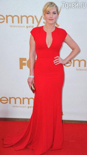 Кейт Уинслет на церемонии «Эмми». 2011 год