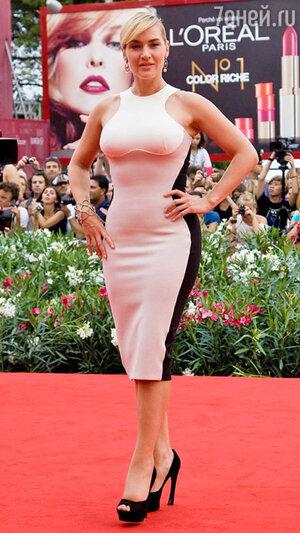Кейт Уинслет. Венецианский кинофестиваль. 2011 год