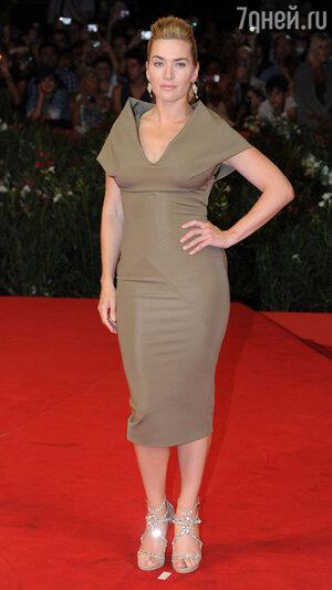 Кейт Уинслет на премьере фильма «Резня». 2011 год