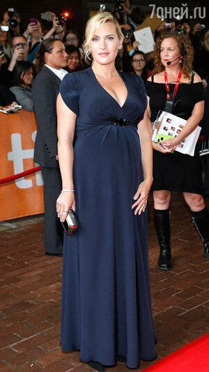 Кейт Уинслет на премьере фильма «Рабочий день». Кинофестиваль в Торонто. 2013 год