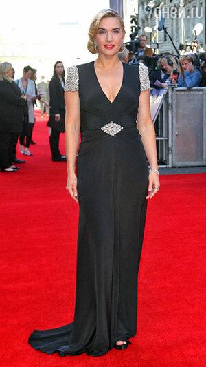 Кейт Уинслет на премьере фильма «Титаник» в 3D. 2012 год