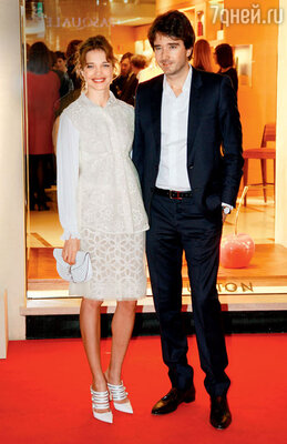 С Антуаном Арно в Риме. 2012 г.