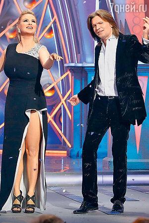 Анна Семенович и Дмитрий Маликов
