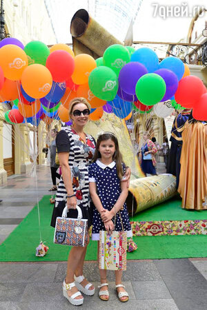Маша с мамой Мариной Зудиной