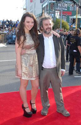 Питер Джексон с дочерью Кэти