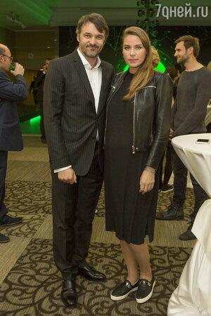 Павел Трубинер с женой Юлией