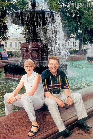 Михаил Кокшенов с дочерью