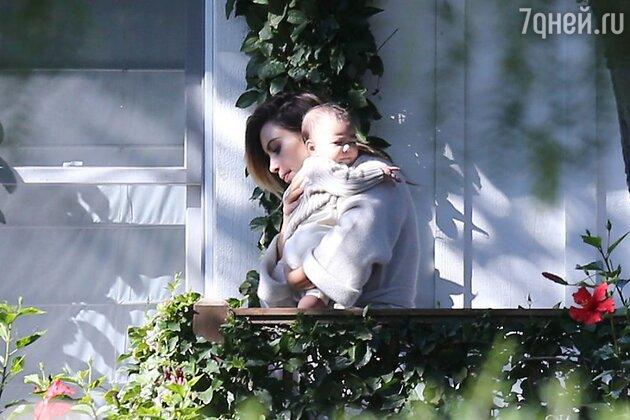 Ким Кардашьян с дочкой Норс Уэст